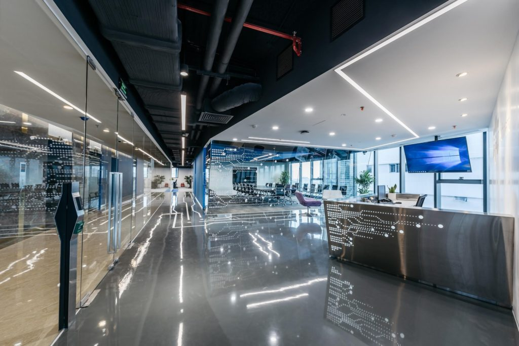 thiết kế văn phòng coworking space FPT