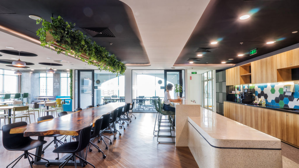 Office redesign – A refreshing journey to catch the HR trend early of Bayer and Tetra Pak