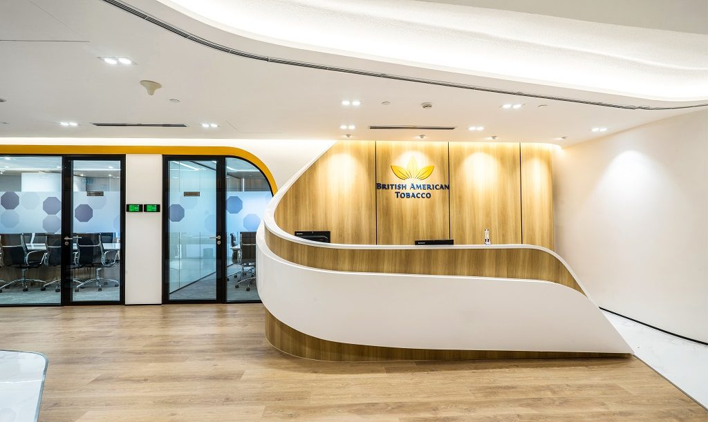 British American Tobacco Office Design