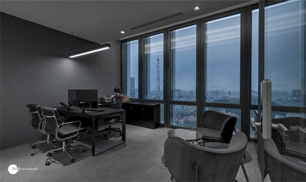 office design highlights the luxury