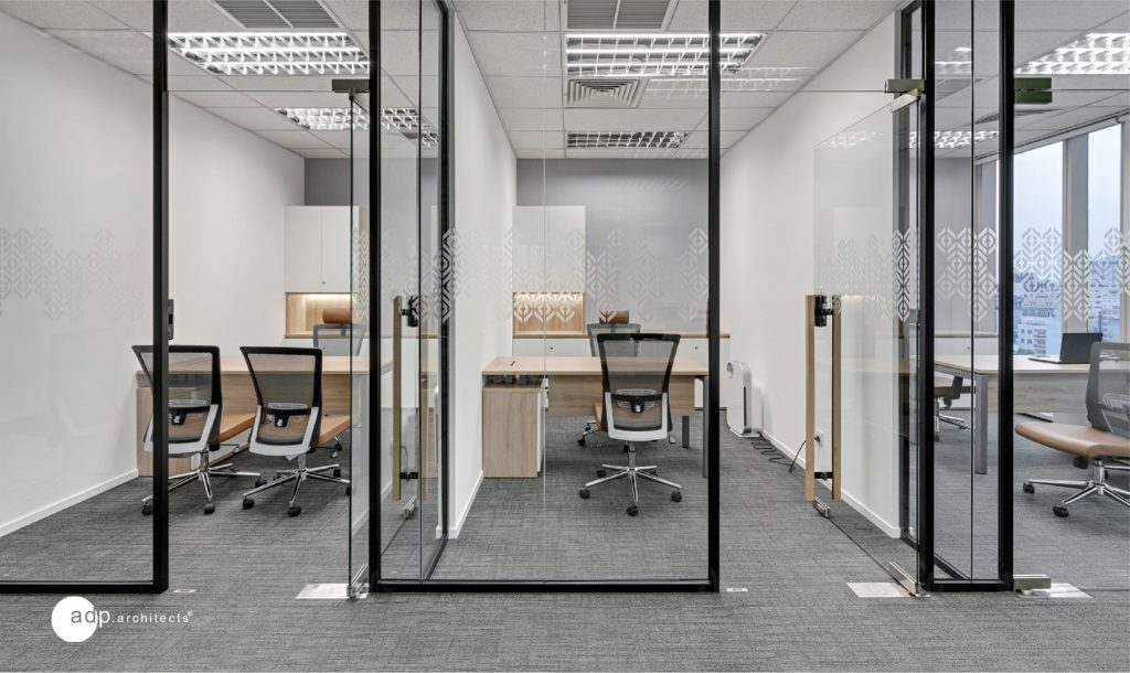 Open space in office design