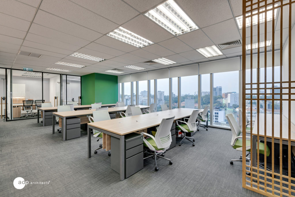 Open workspace of SPG land office