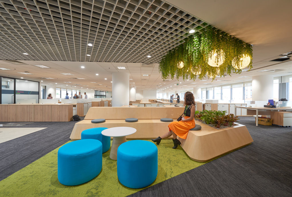 Common space at Bayer office