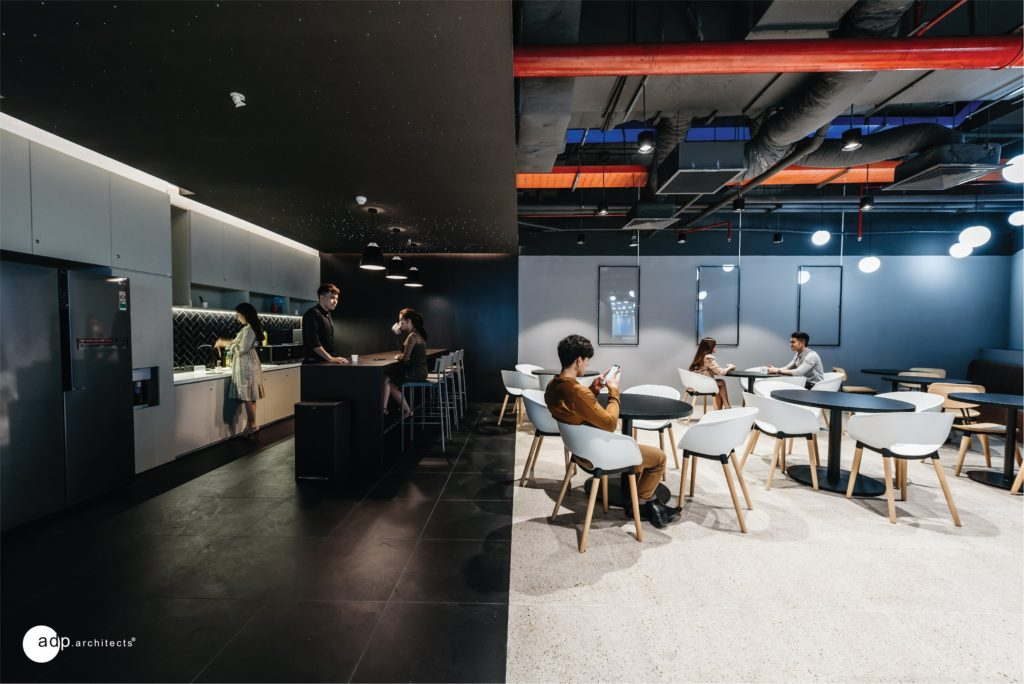 office design with diverse and flexible interior
