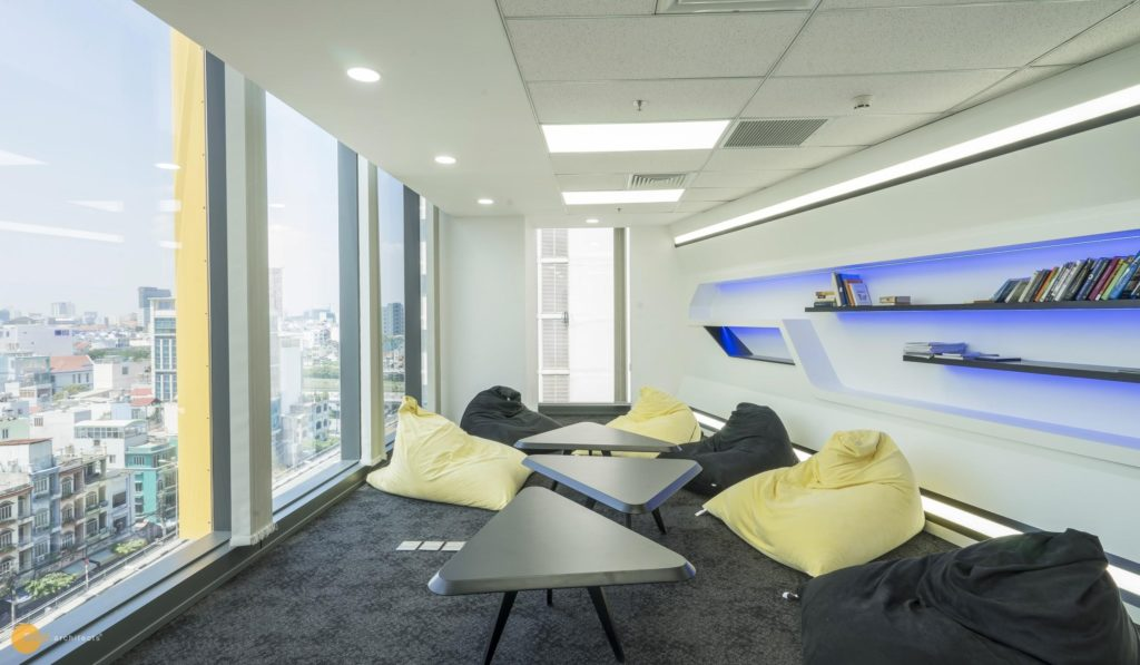 The Relaxing room in Axon office