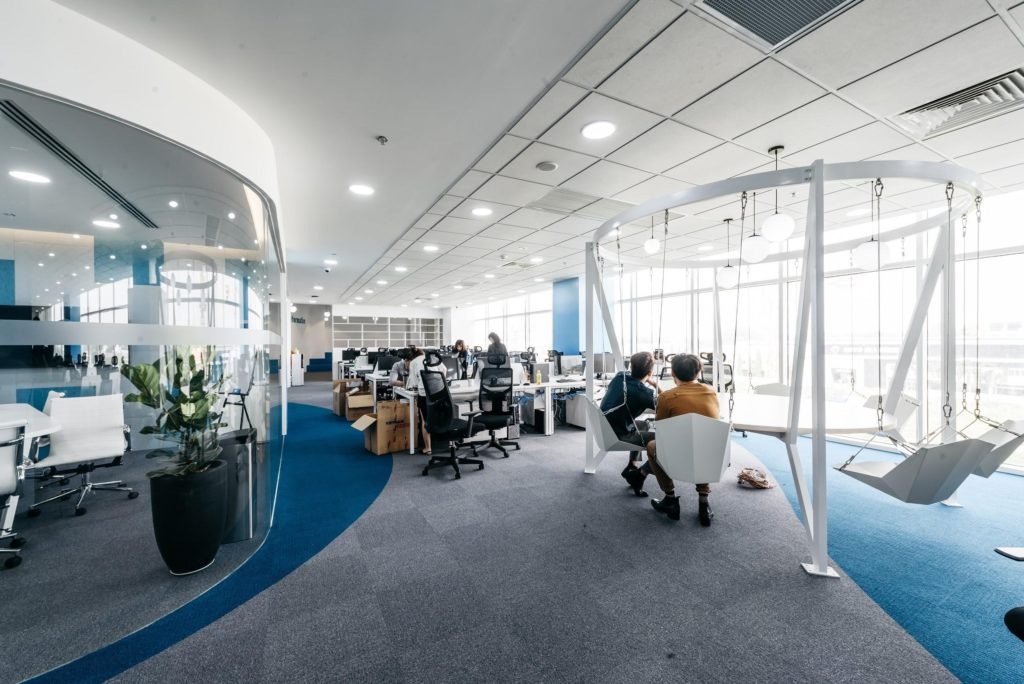 Office design with traditional office style